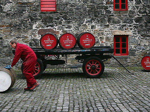 Scottish university cities and their whisky distilleries
