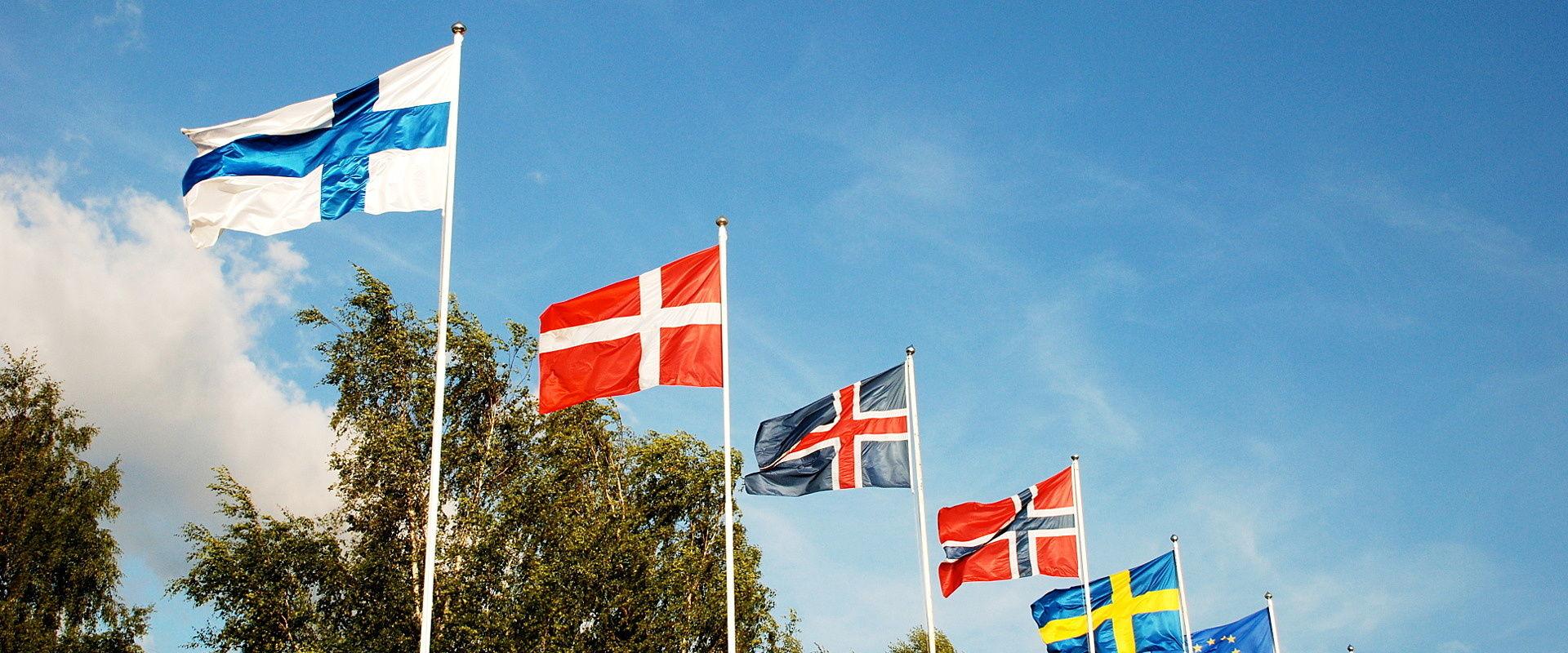 Flags of Scandinavia