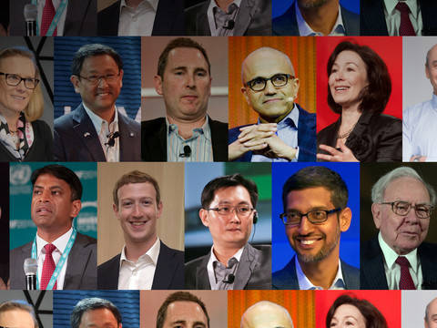The academic backgrounds of the world's most powerful CEOs
