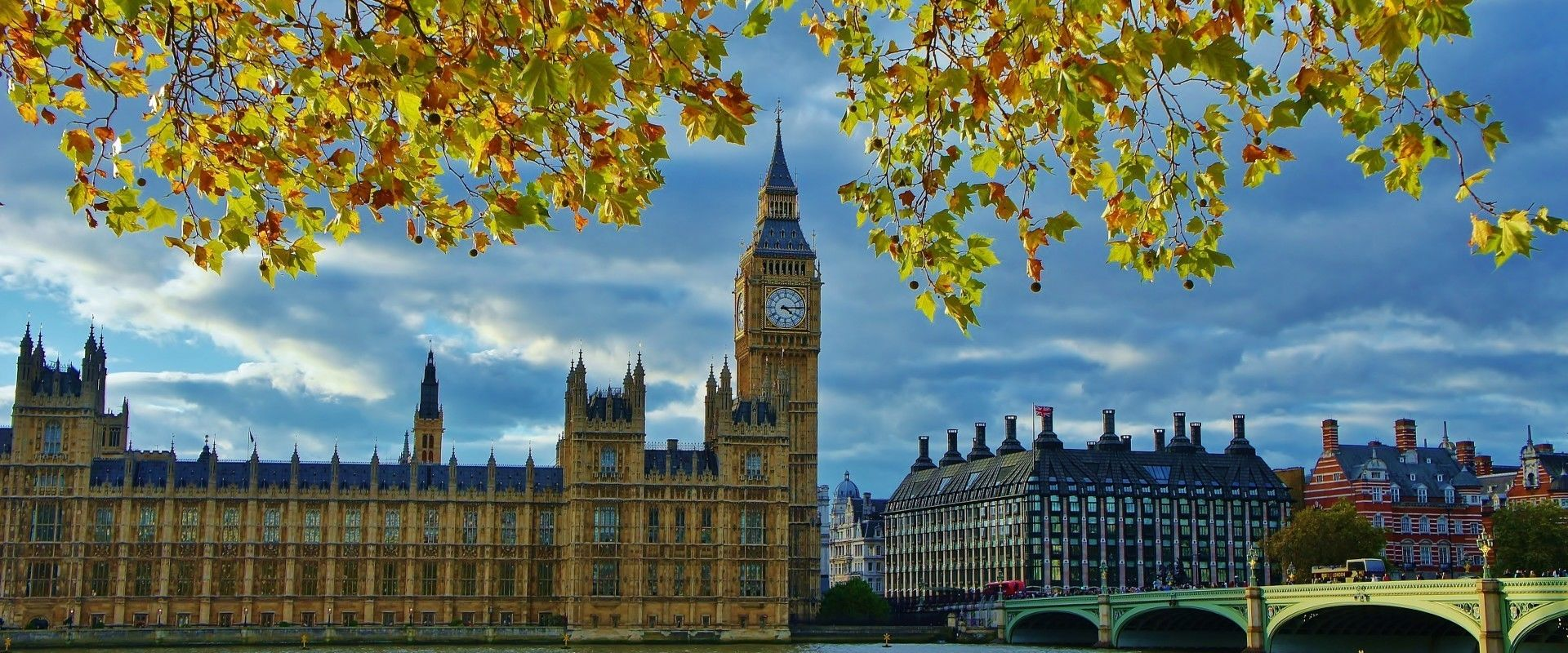 Autumn Colours at Big Ben
