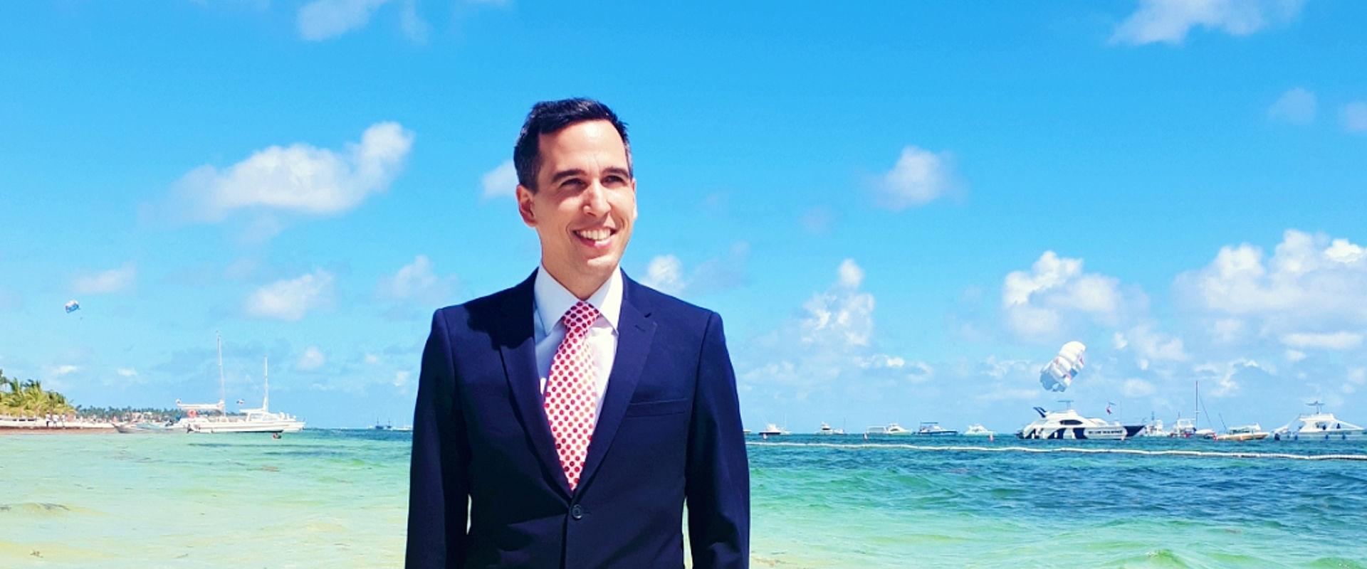 Christofer Gratz, CEO of suntours