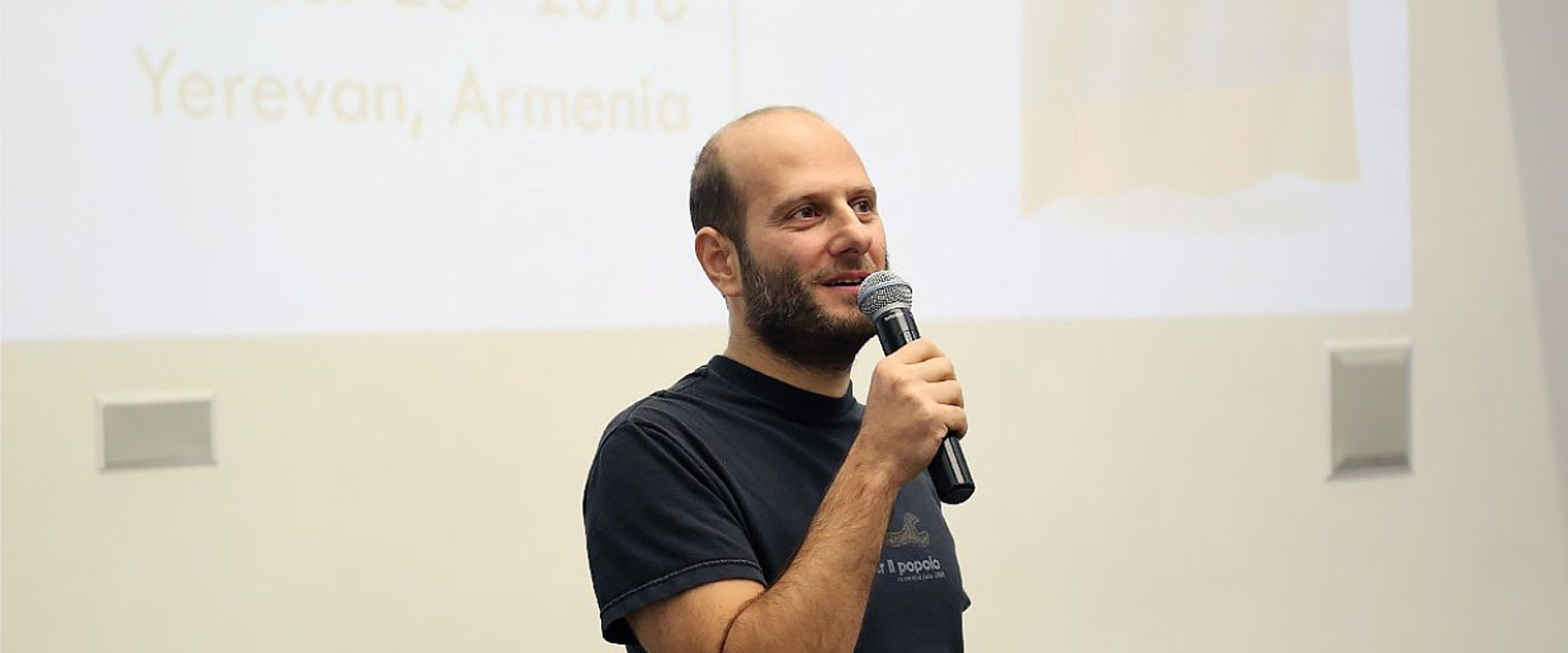 Stéphane Assadourian at TUMO Conference 2018, Yerevan, Armenia