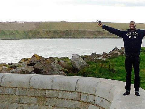 How Bayo learnt to love Scotland and decided to stay