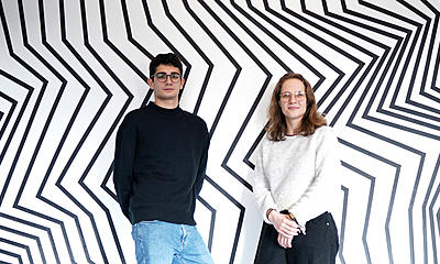 Degrees for the future in the heart of Berlin: Meet Adrien & Marie from CODE