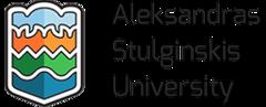 Desktop aleksandras stulginskis university 107 logo