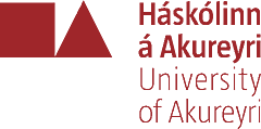 University of Akureyri - Logo