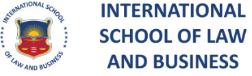 International School of Law and Business - Logo