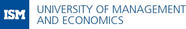 ISM University of Management and Economics - Logo